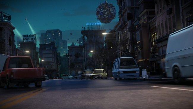 """Xe trong phim hoạt hình """"Home"""""""