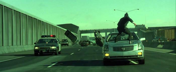 Những pha rượt đuổi gay cấn trong The Matrix Reloaded