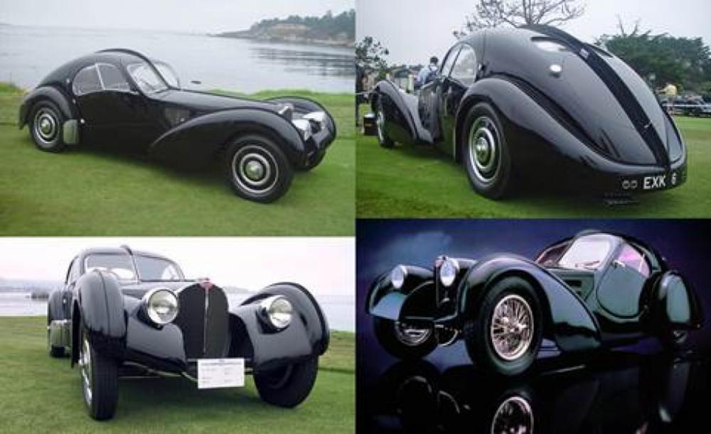 Chiếc siêu xe đời 1936 - Bugatti Type 57SC Atlantic