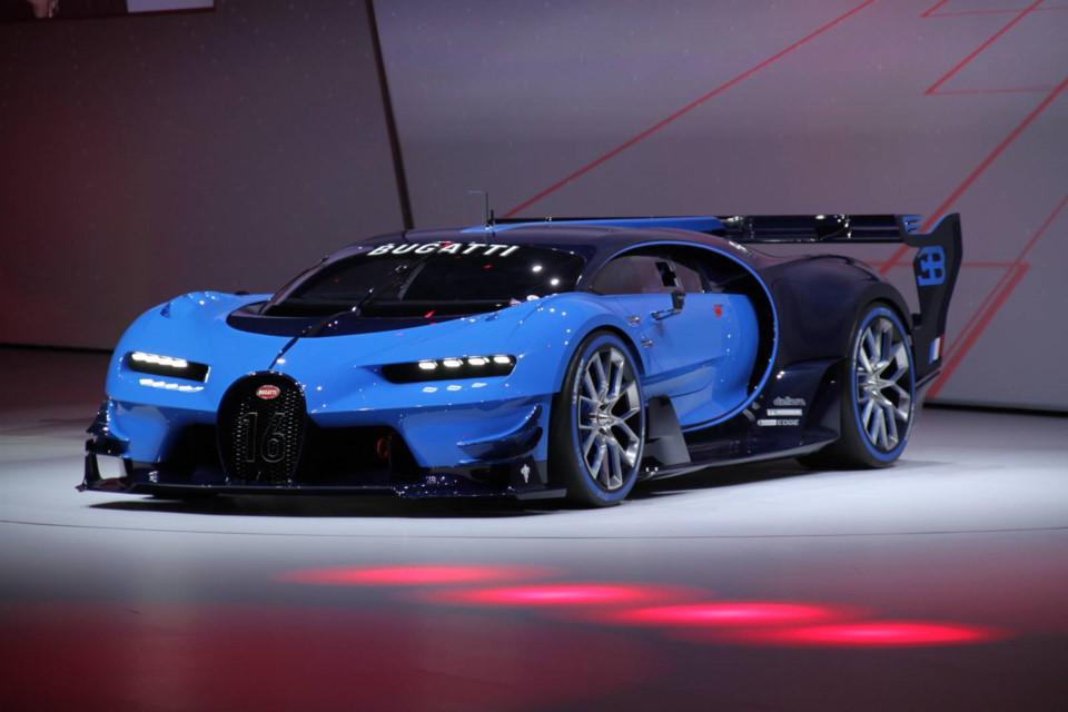 Bugatti Vision GranTurismo - siêu xe trị giá 3 triệu USD