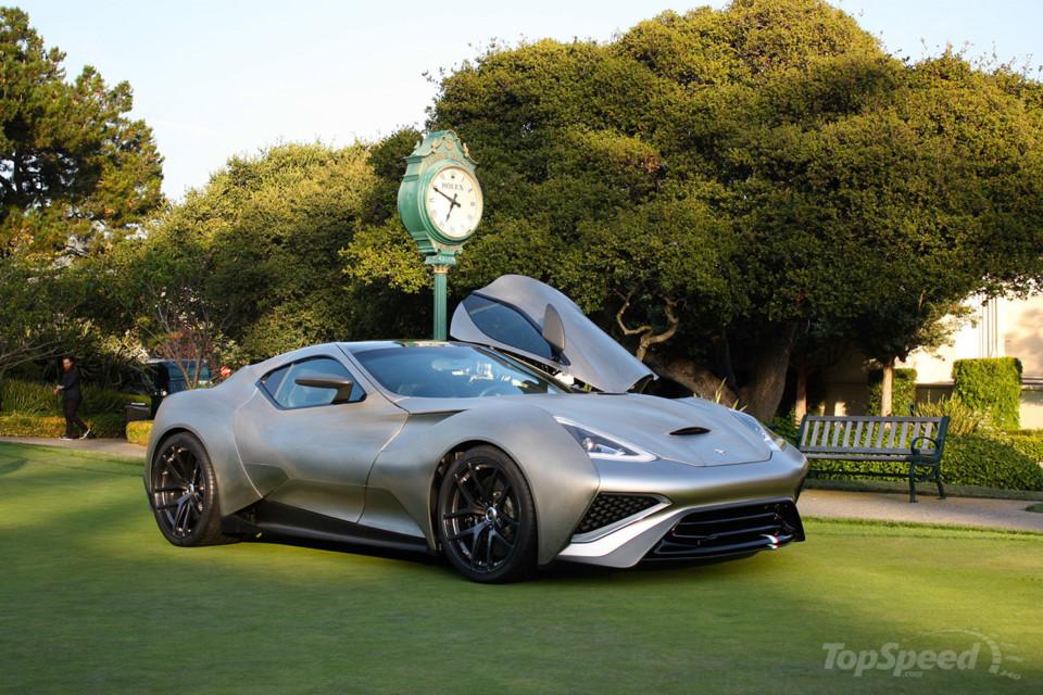 Icona Vulcano Titanium - siêu xe đầu tiên sử dụng chủ yếu vật liệu titan