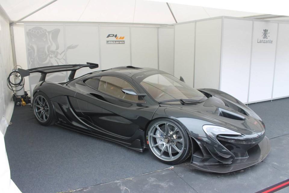 McLaren P1 LM là phiên bản nâng cấp của những chiếc P1 - Lanzante Motorsport