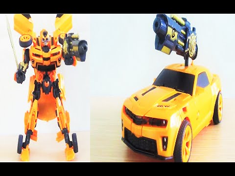 Bumblebee - người máy biến hình màu vàng thu hút khán giả