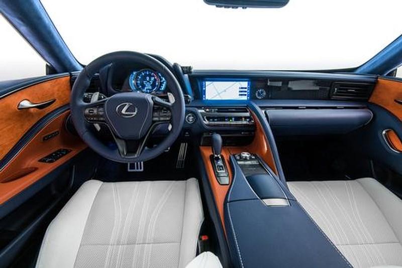 Thiết kế nội thất sang trọng Lexus LC500