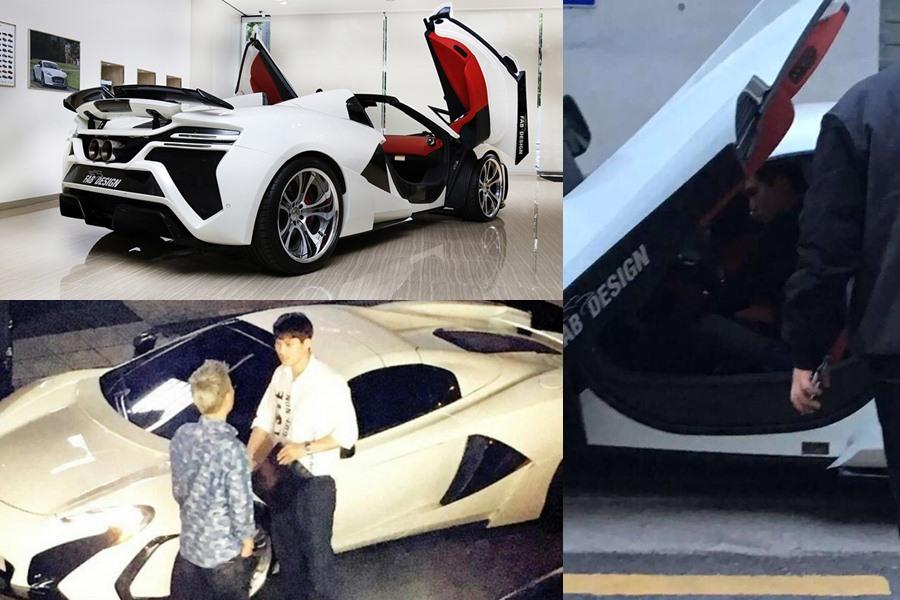 McLaren 650s FAB Design sở hữu bởi JongHyun trị giá 600 nghìn USD