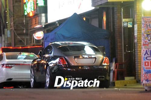 Rolls Royce Wraith trị giá 420 nghìn USD do Jaejoong sở hữu