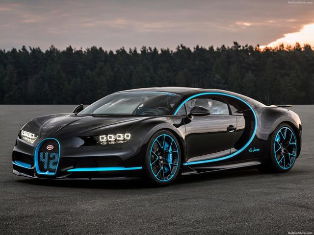 Bugatti Chiron được trang bị  động cơ W16 8.0L với 4 bộ tăng áp